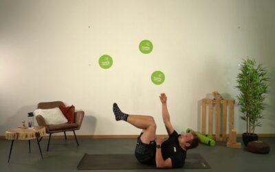 Core Workout mit Moritz